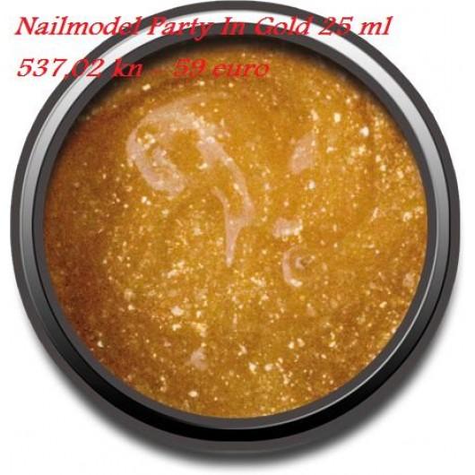 NAILMODEL PARTY IN  GOLD 25 ML